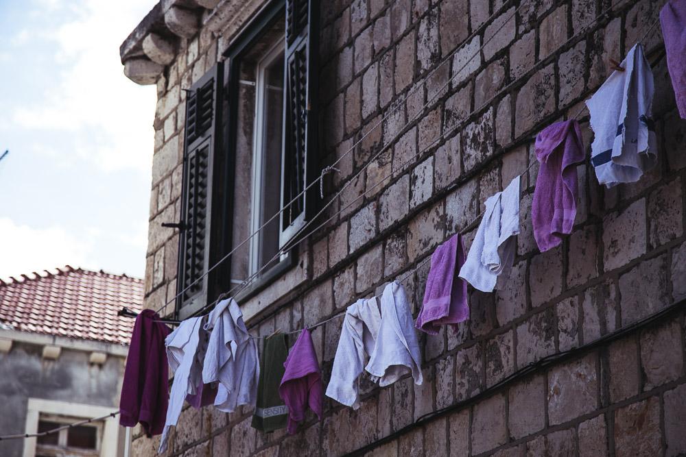 dubrovnik clothes line anamarijabujic.com