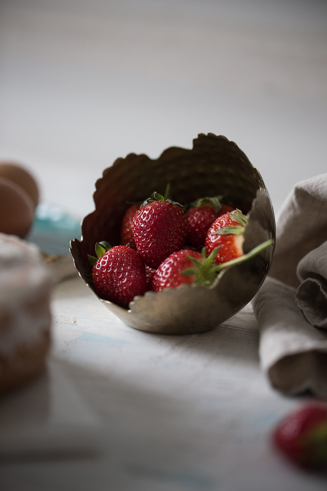 Strawberry semolina cake anamarijabujic.com