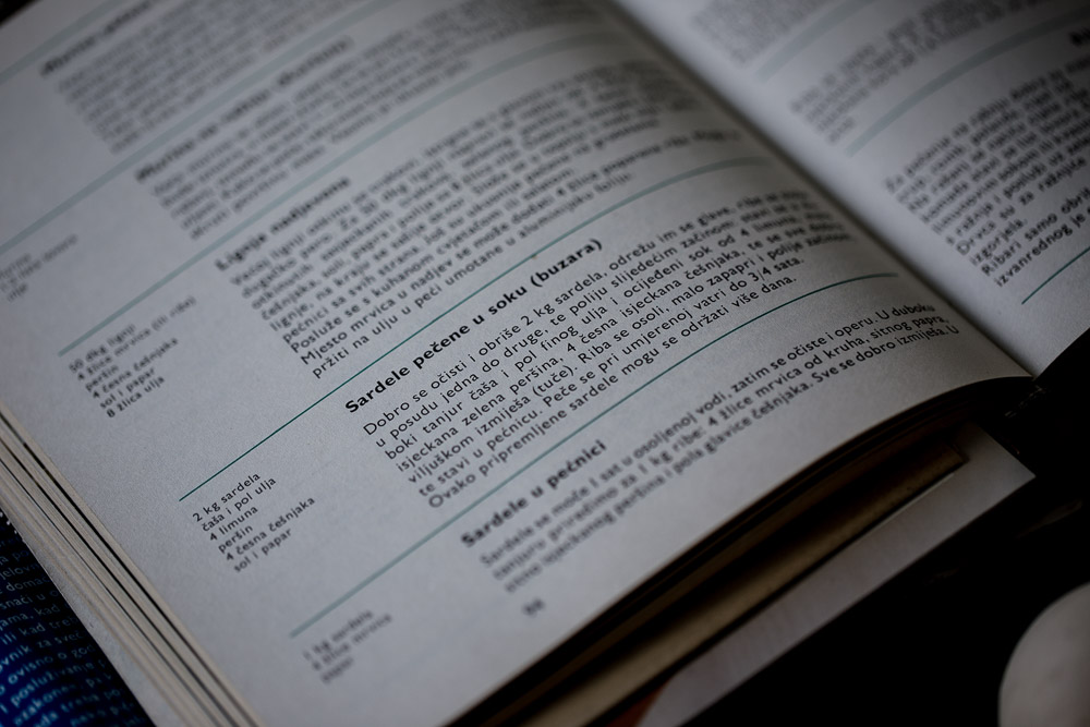 Dalmatian cookbook